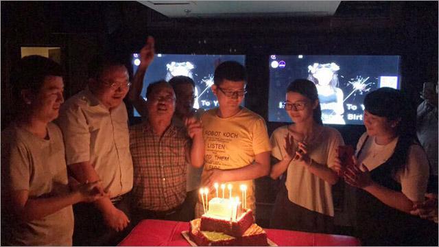 五月放歌 共庆生日——公司本部工会、临高公司工会举办员工集体生日会