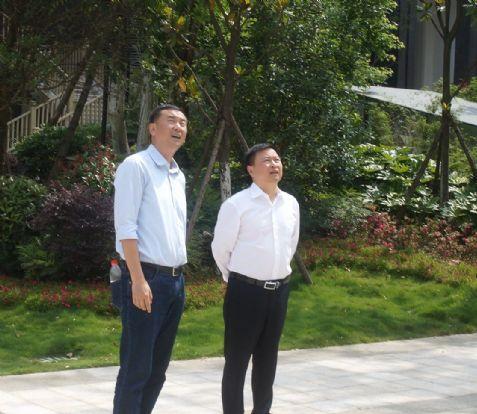中铁二局集团公司总经理王广钟莅