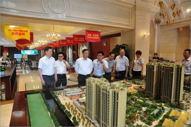 中铁二局董事长、党委书记邓元发一行调研郫都项目